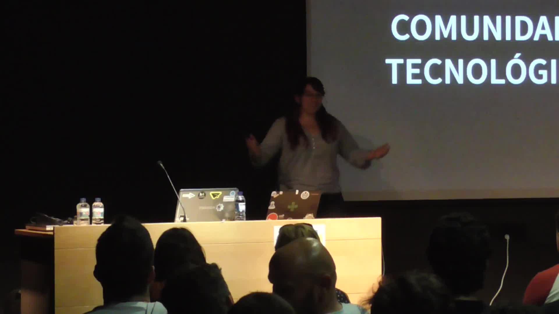 Image from Cicerón y las comunidades tecnológicas